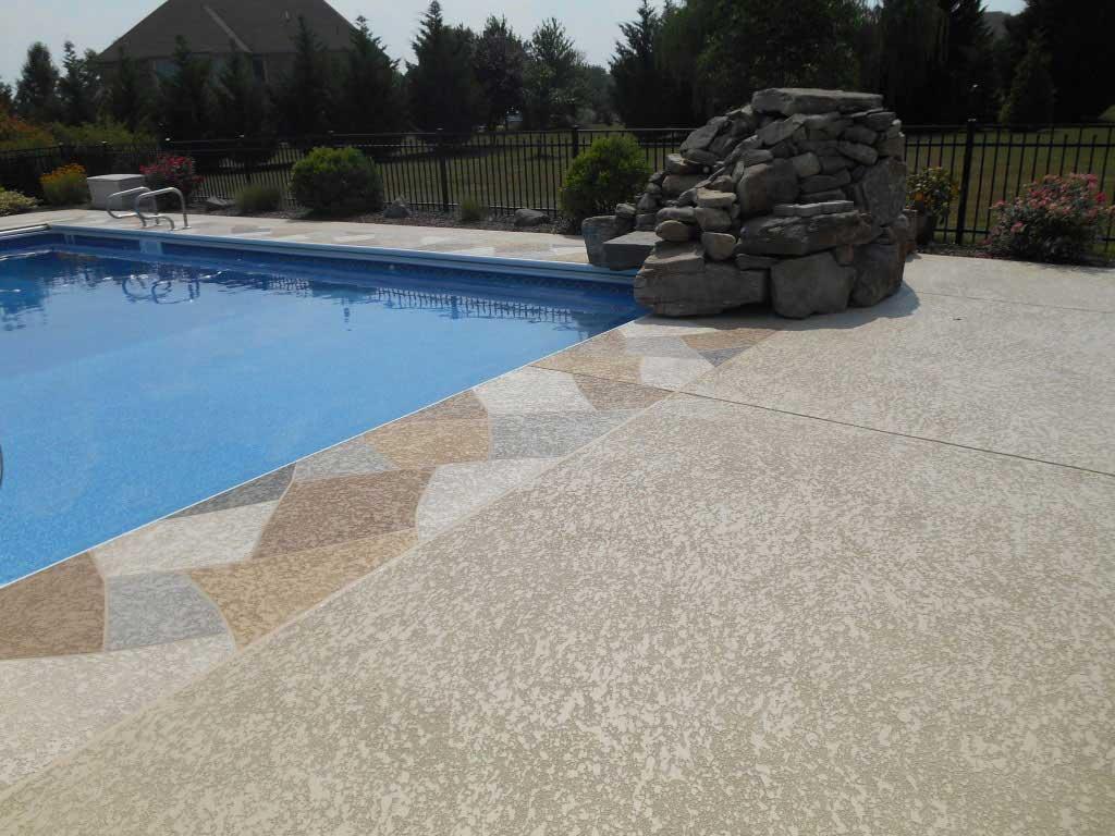 pool deck classic texture