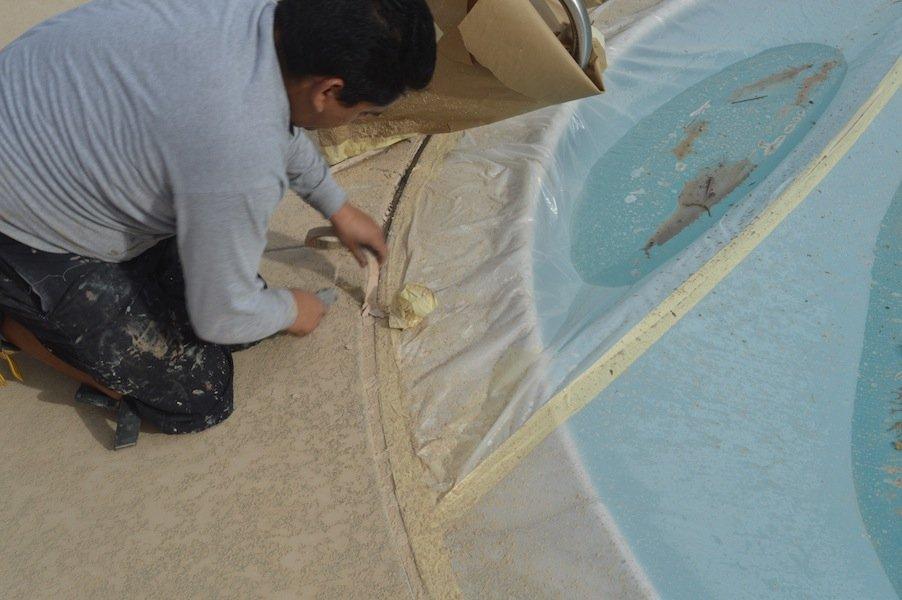 Orange County pool deck repair