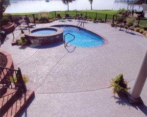 Encino,CA Pool Deck Resurfacig