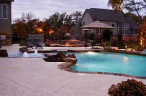 Rancho Santa Margarita, CA Pool Deck